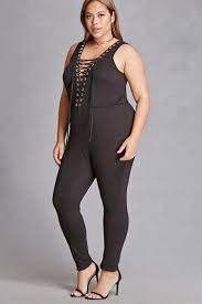 lace up jumpsuit plus size lace up jumpsuit forever21