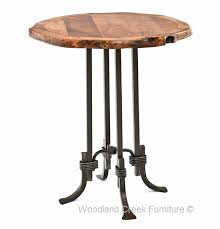 Rustic Bar Table Rustic Mesquite Pub Table Western Bar Table Wood