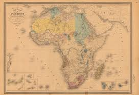 africa map in untitled document