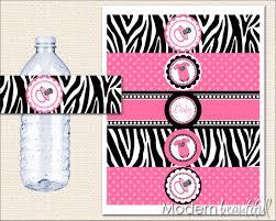 zebra baby shower manificent decoration pink and zebra baby shower winsome design
