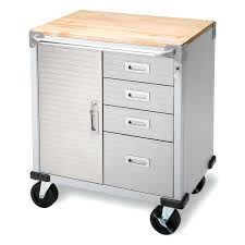 stainless steel workbench cabinets stainless steel workbench with drawers inch mobile solid wood top