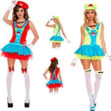 Mario Womens Halloween Costume Discount Mario Costume Women 2017 Super Mario Costume