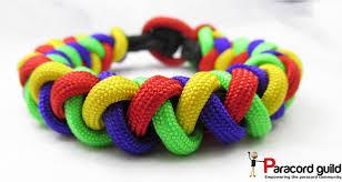 paracord woven bracelet images Round braid paracord bracelet paracord guild jpg