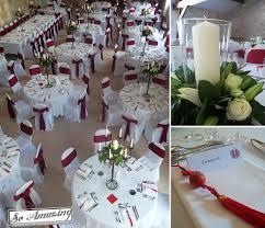 dã coration de table de mariage dacoration pur un mariage blanc et galerie et deco table