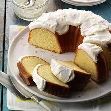 california lemon pound cake recipe taste of home