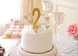 kara u0027s party ideas pink and gold 2nd birthday party via kara u0027s