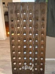 old champagne riddling rack for 60 wine bottles big oak winerack