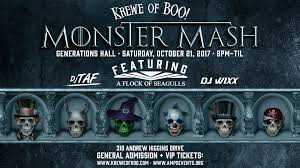 krewe of boo u0027s monster mash with a flock of seagulls u2013 tickets