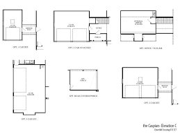 2 Car Garage Floor Plans Caspian Chc Home Builders Atlanta Ga Sr Homes