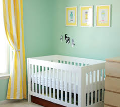 Yellow Curtains Nursery Nursery Color Tours 21 Yellow Baby Rooms Disney Baby