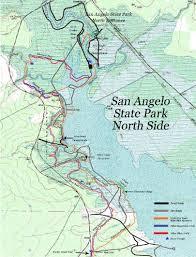 San Angelo Tx Map Mtb Rides U2013 Angelo Bike
