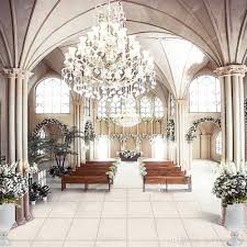 wedding vinyl backdrop vinyl cloth wedding photography backdrops church chandelier chairs