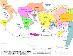 1 8 Maps Pauls Third Journey Map Yahoo Search Results Bible Maps And