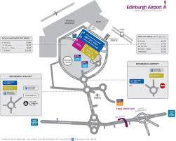 Ryanair Route Map by Car Park Map Edinburgh Airport
