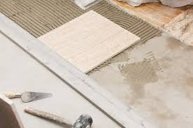 Installing Ceramic Tile Floor Stunning Laying A Ceramic Tile Floor Of Installing On Concrete