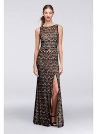 sheath dress eyelash lace sheath dress with keyhole back david s bridal