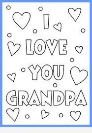 coloring pages for grandpa fathers day murderthestout