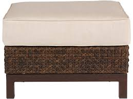 Brentwood Patio Furniture Art Furniture Outdoor Patio Brentwood Wicker Uph Stool Ottoman
