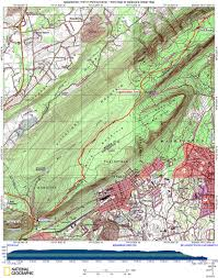 Appalachian Trail Map Virginia by At In Pa Wind Gap To Delaware Water Gap