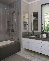 gray bathroom tile waplag shower installation northern colorado