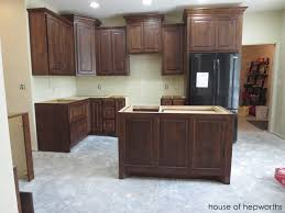 Building A Kitchen Island With Cabinets The Making Of A Kitchen Island
