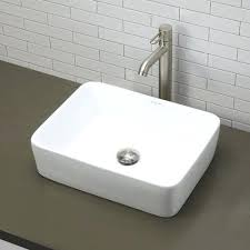 small rectangular vessel sink small rectangular vessel sink found it at classically redefined