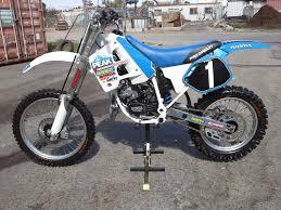 honda cr 125 honda cr125 1992 restoration
