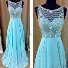 blue prom dress beaded prom dresses long prom dress prom dress