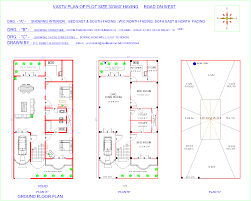 west facing house plans for 30x40 site as per vastu