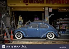 volkswagen thailand very old and neglected vintage vw beetle now used as an
