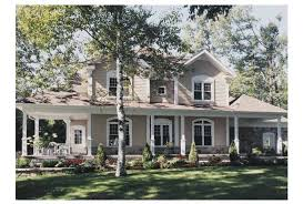 2 Story Country House Plans by Eplans Farmhouse House Plan Two Story Farmhouse 2292 Square