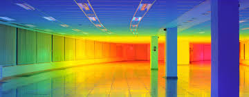 inside a rainbow with liz west u0027s immersive color landscape