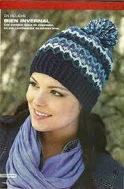 modelos modernos para gorras tejidas con solo puntos gorros crochet