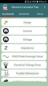 electrical calculator free android apps on google play