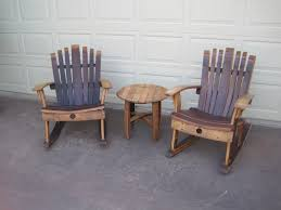 Nicaraguan Rocking Chairs Rocking Chair Wine Barrel Chair