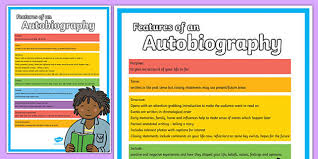 ks2 literacy biography and autobiography of an autobiography poster autobiography poster