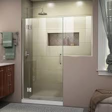 Dreamline Shower Doors Frameless Faucet D1282436 04 In Brushed Nickel By Dreamline