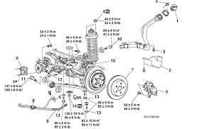 ford focus suspension diagram rear suspension diagram and torque specs evolutionm mitsubishi
