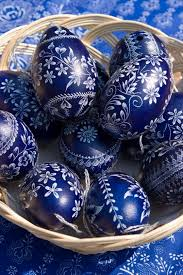 blue easter eggs blue and white easter egg designs to do draw or paint on white