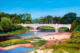Indiana landscapes images Indiana artist j rodney reveal landscape and western paintings jpg