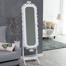 Armoire With Mirrored Front Innovation Luxury White Jewelry Armoire For Inspiring Nice