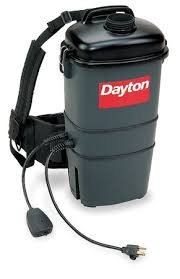 Backpack Vaccums Dayton Backpack Vacuum Cleaner 7 Qt 10a 4tr09 Vacuums And