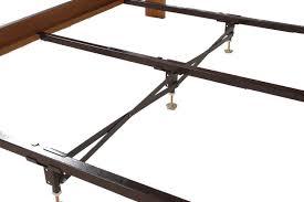 Adjustable Center Leg Bed Frame Support Steelrame Center Support Rails Adjustable Legs Gs 3xs King Metal