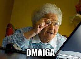 Omaiga Meme - omaiga internet grandma surprise meme generator funny meeeeems