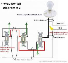 wiring diagram 4 way switch with multiple lights wiring diagram