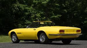classic maserati convertible 1969 maserati ghibli 4 9 spyder s121 monterey 2016