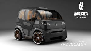 small cars this mirrow provocator concept will change your view on small cars