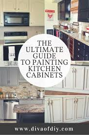 painting kitchen cabinets diy the ultimate guide to painting kitchen cabinets of diy