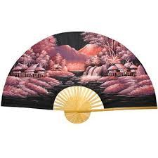 oriental fans wall decor oriental furniture night oriental fan wall décor size 35 h x 60 w