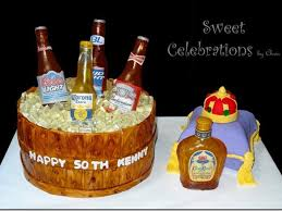 birthday cake drink 50th birthday cake for the owner of a local liquor store the